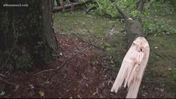 Damage In Kernersville After Another Summer Storm Comes Through