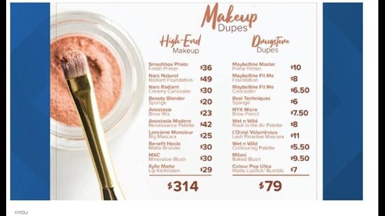 KHOU Makeup Comparisons
