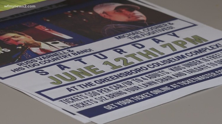 Mental Health Greensboro hosts Stomp the Stigma Drive-Thru Concert
