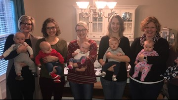The 'Fabulous 6-Pack' Just Turned Into A '12-Pack': Viral Pregnant Nurses Show Off Their Babies