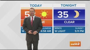 Ed Matthews' Morning Forecast