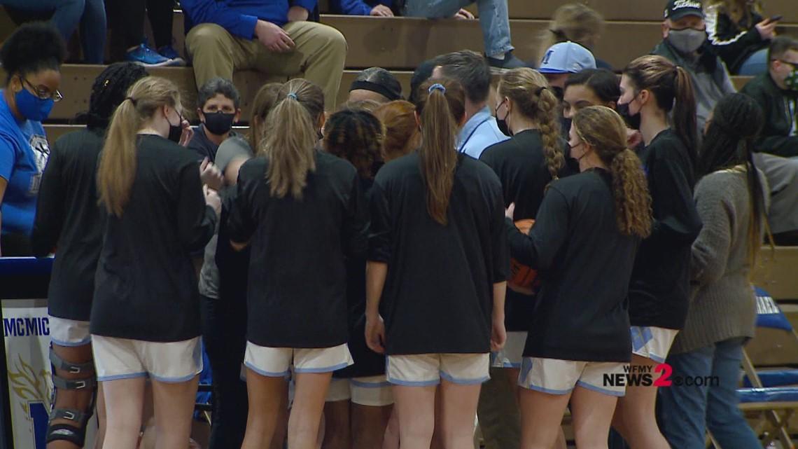 NCHSAA Girls Basketball 2A Regional Final: Farmville Central vs. McMichael