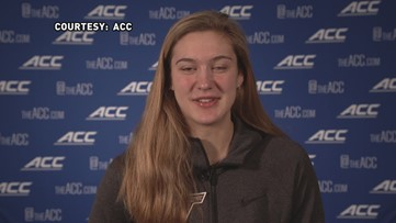 'I'm very excited to come back and play in Greensboro':  Virginia Tech's Elizabeth Kitley talks ACC Tournament