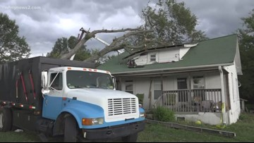 More Triad Storms Hit As Some Families Deal With Previous Storm Damage