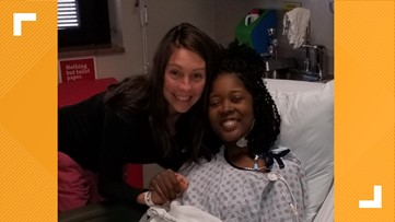 'Thank you for giving me a second chance at life'   Greensboro teacher receives kidney from fellow teacher
