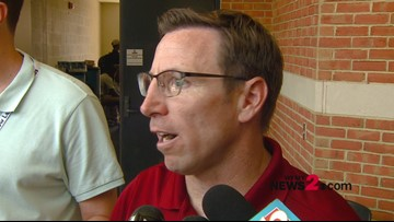 Interview With Elon Head Coach Tony Trisciani After Today's Loss To Wake Forest