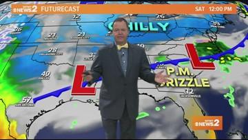 Ed Matthews' Saturday Morning Weather Update