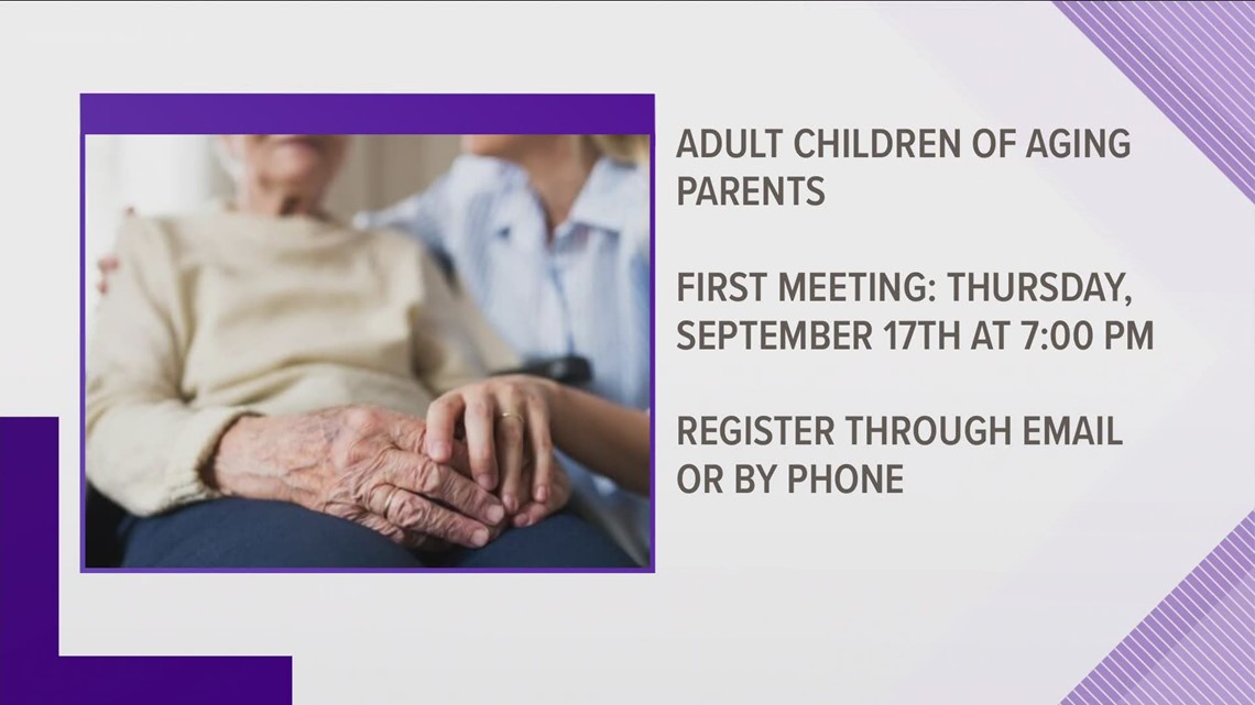 Senior Resources of Guilford County helps adults acting as caregivers to parents