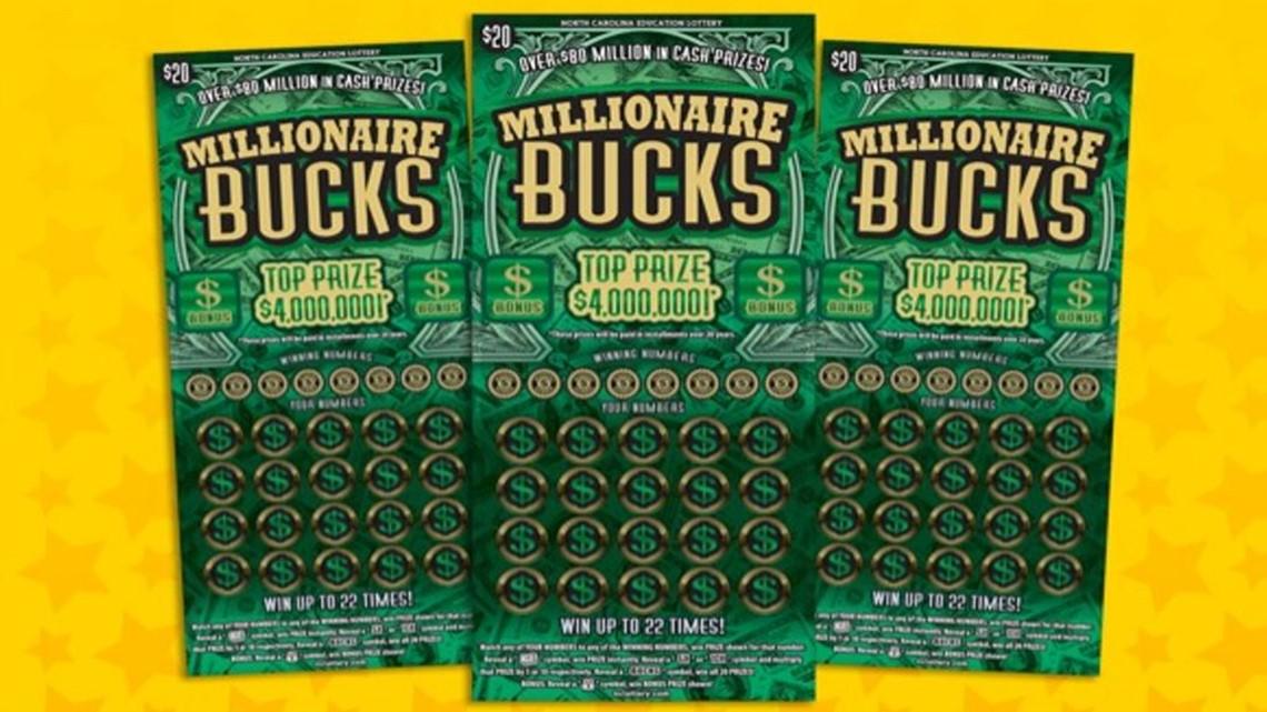 Winston-Salem man finds last scratch-off ticket with $4 million top prize