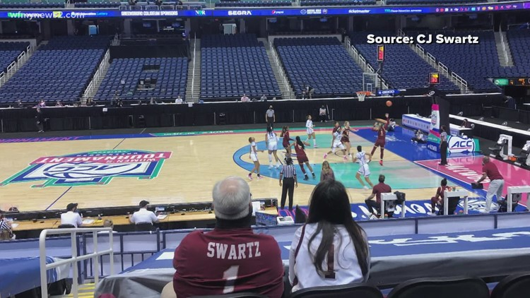 Limited number of fans allowed at ACC Women's Tournament