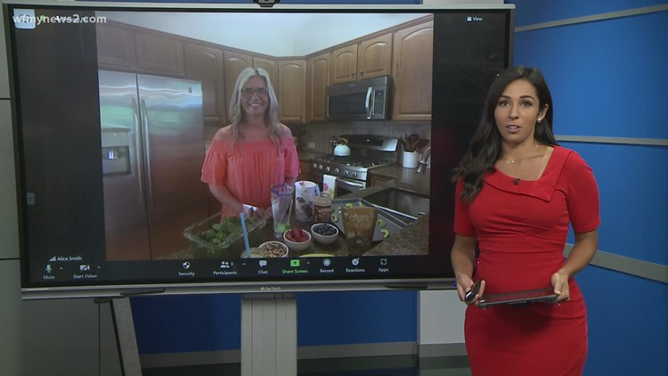 Healthy back-to-school snack recipes Part 2: Virtual News 2 Kitchen