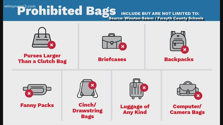WS/FCS adopts clear bag policy for large events