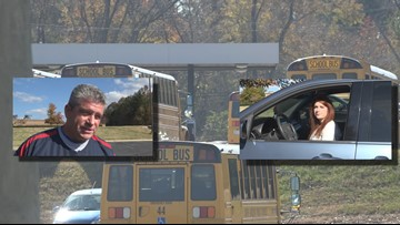 'It's Not Fair to the Kids' Some Guilford County Bus Drivers Don't Support the Walkout