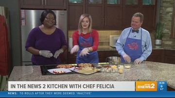 Chef Felicia kicking off your New Year's Eve party - Part 2