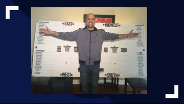 Brackets Being Filled Out Left And Right, High Point Man Creates The Biggest NCAA Bracket You'll See