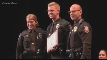 Triad Man Joins Daughter, Son as Greensboro Police Officer