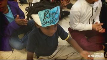 Read 2 Succeed Train Rolls Into Wiley Elementary in Greensboro