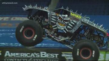 Monster Jam Returns To The Greensboro Coliseum Complex
