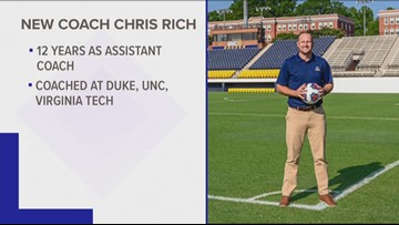 UNCG Hires Chris Rich As New Men's Soccer Coach After Former Coach Resigned