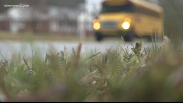 Guilford County mom upset after son sends her video of overcrowded school bus