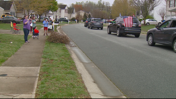 Teacher parade brings smiles to South Mebane Elementary students