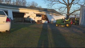 Neighbors' property torn up after tornado rips through Randolph County