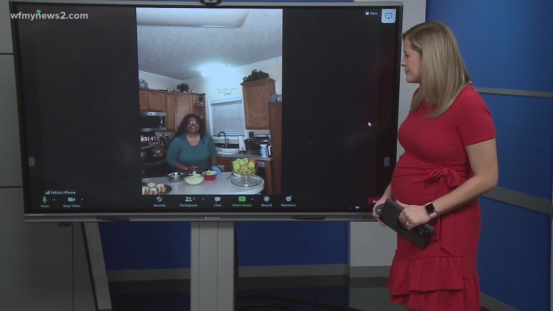 In the News 2 Virtual Kitchen with Chef Felicia Daniel