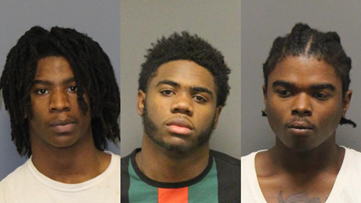Three charged after shots fired at officers serving warrant at The Avenue apartments in Greensboro