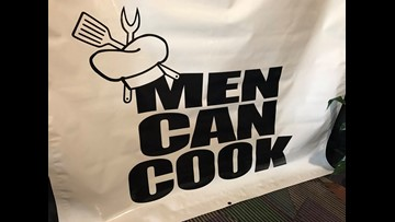 In the Kitchen with the Chefs of the Men Can Cook Fundraiser