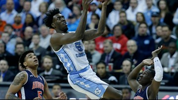 Tar Heels Bounced Out Of The NCAA Tournament In Loss to Auburn