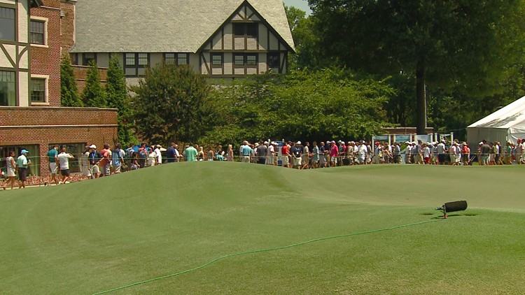 Wyndham Championship postponed, but not by much