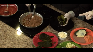In The News 2 kitchen with La Fiesta's Homemade Dishes