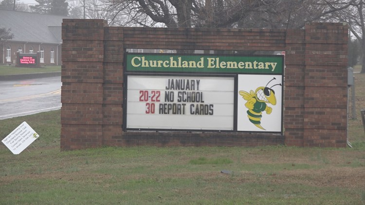 91-Year-old woman charged after hitting Davidson County deputy outside Churchland Elementary School