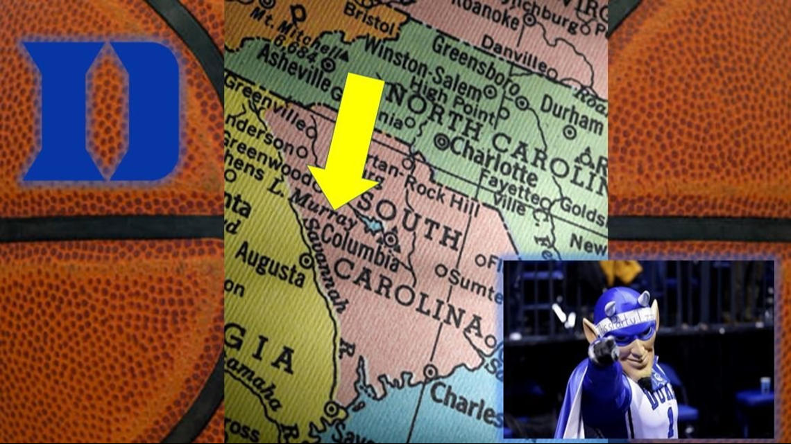 Road Trip To Columbia! Duke Fans Here's Your One Tank Trip Guide To