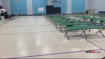 Graham Recreation Center Open As Red Cross Shelter In Graham