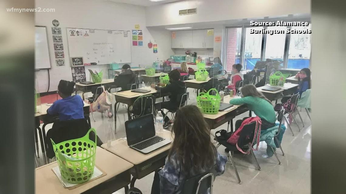 Alamance-Burlington Schools brings more students back to the classroom