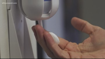 Triad sanitizer maker staying in the fight against COVID-19