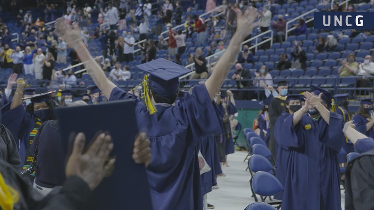 College commencement ceremonies around the Triad this weekend, 2020 graduates get a redo