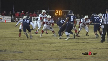East Surry vs. Mount Airy highlights