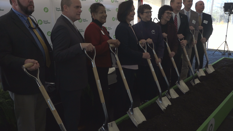 Publix breaks ground on a new distribution center in Guilford County