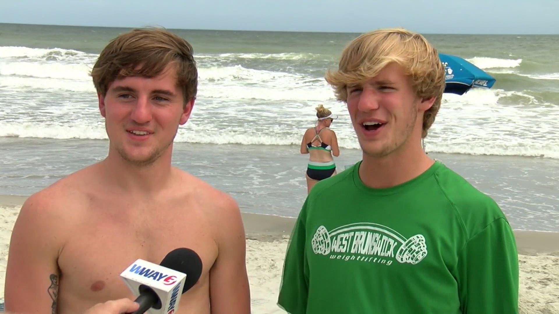 Shark Bites 19 Year Old At Ocean Isle Beach Family Says Wfmynews2 Com