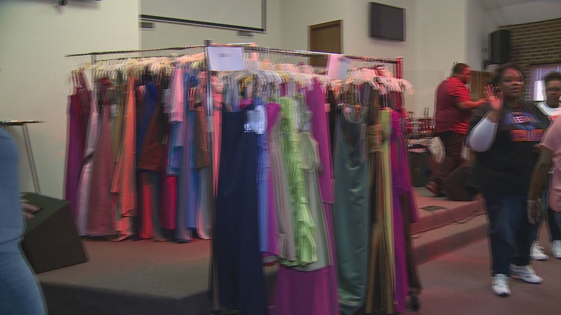 Greensboro Church Gives Away Hundreds Of Prom Dresses For Free
