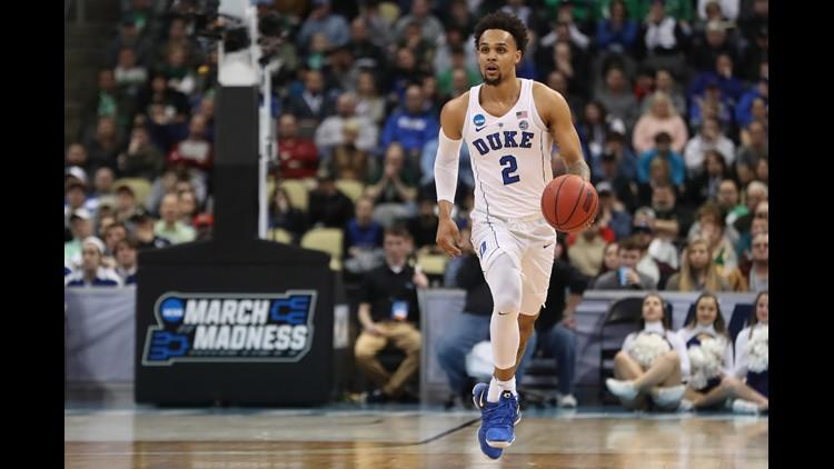 Trent latest Duke freshman off to draft