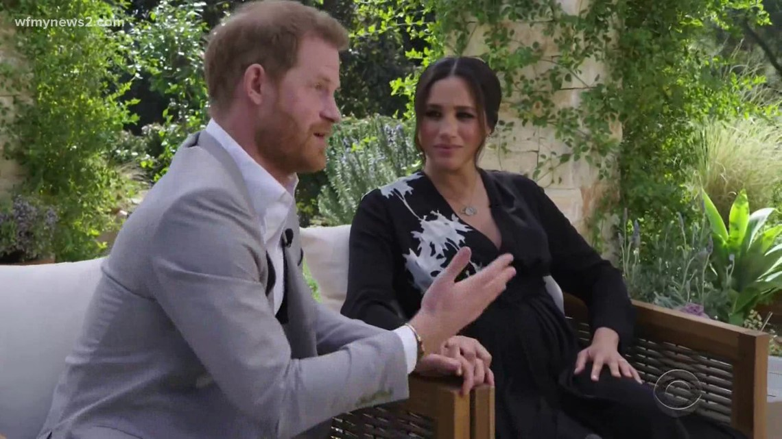 What Prince Harry and Meghan Markle's body language revealed in the Oprah interview