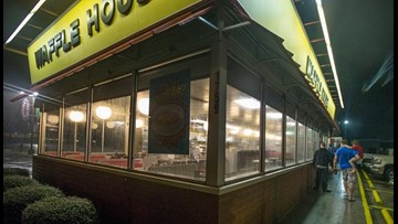 Scattered & Smothered With Love: Waffle House Valentine's Day Dinner Tradition Continues