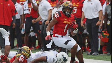 Panthers Select WR D.J. Moore From Maryland In First Round