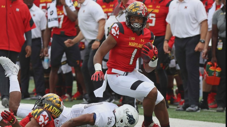9dd1ec116 Panthers Select WR D.J. Moore From Maryland In First Round. The Carolina ...