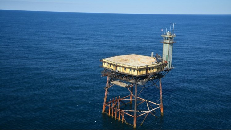 You Can An Abandoned Coast Guard Tower Off The Nc Wfmynews2