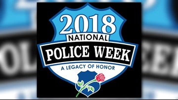 Guilford Co. Remembers Fallen Officers For National Peace Officers Week