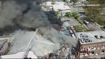 Explosion Aftermath: Firefighter's Helmet Cam Shows What Happened Minutes After the Durham Explosion
